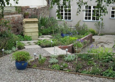 A garden for a Grade-II listed townhouse